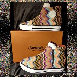 🔶Missoni x Converse High Top Sneaker🔶
